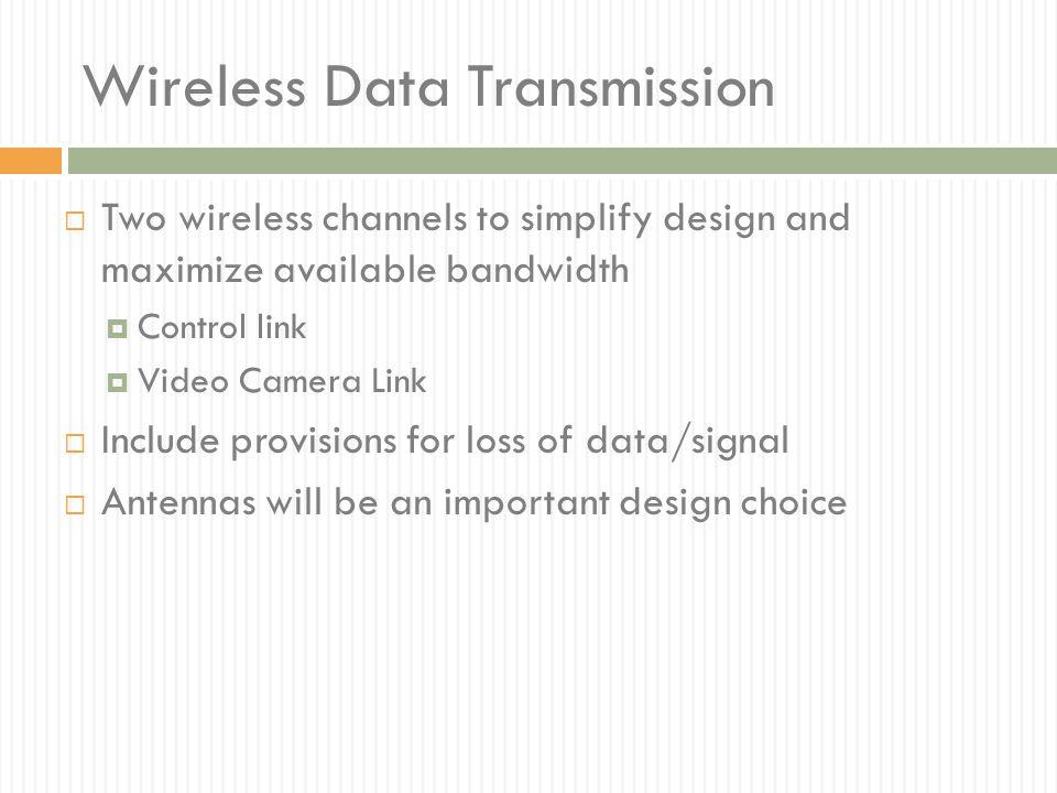 Wireless Data Transmission