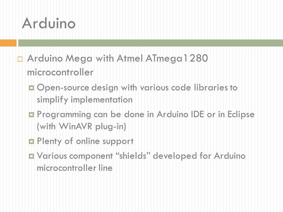 Arduino Arduino Mega with Atmel ATmega1280 microcontroller