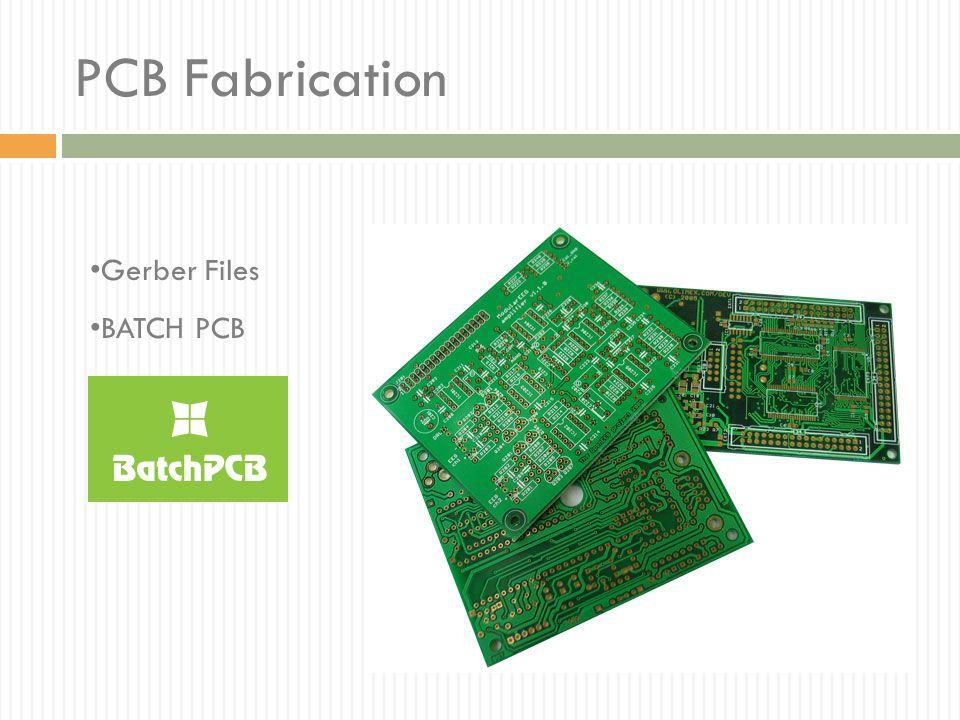 PCB Fabrication Gerber Files BATCH PCB