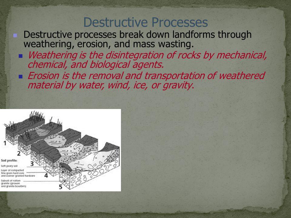Destructive Processes
