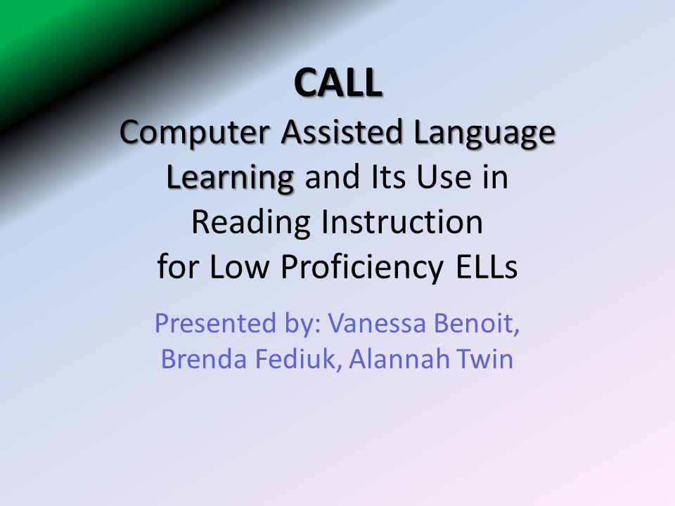 Presented by: Vanessa Benoit, Brenda Fediuk, Alannah Twin