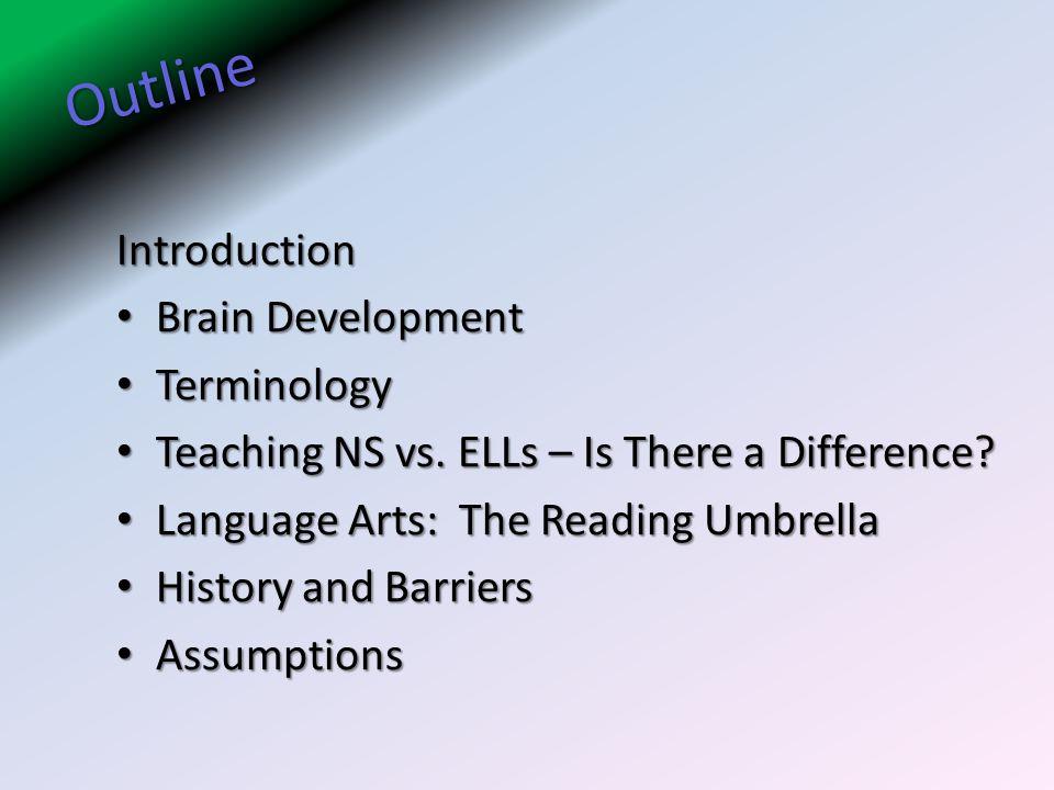 Outline Introduction Brain Development Terminology