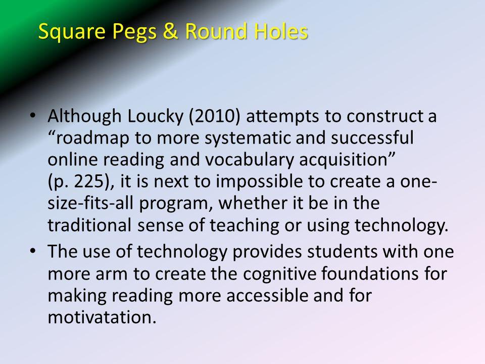 Square Pegs & Round Holes