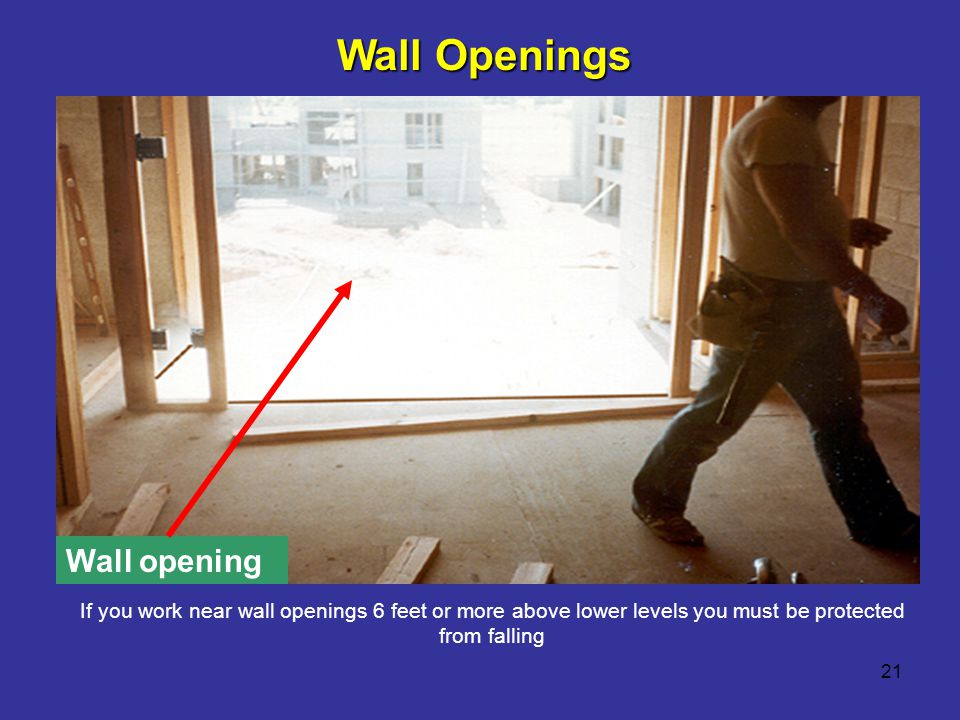 Wall Openings Wall opening