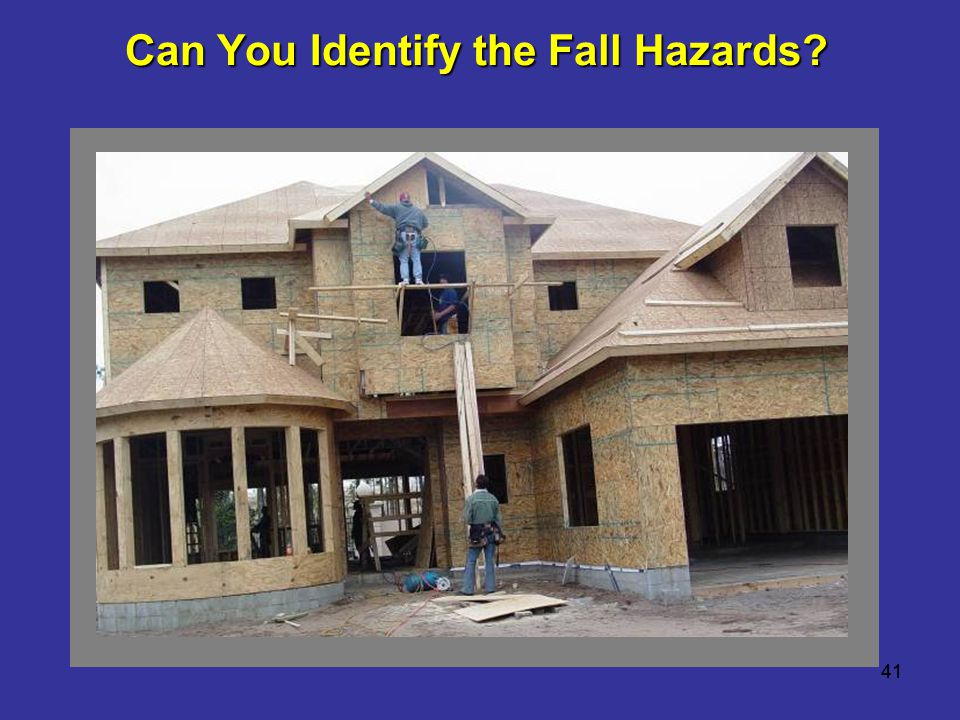 Can You Identify the Fall Hazards