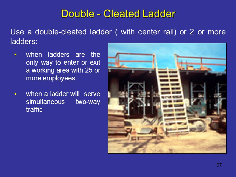 Double - Cleated Ladder
