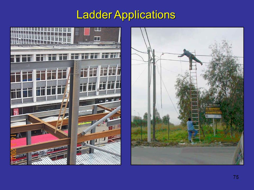 Ladder Applications Reference 1926.1053(b)(16)