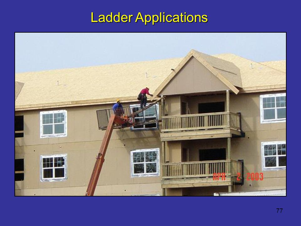 Ladder Applications