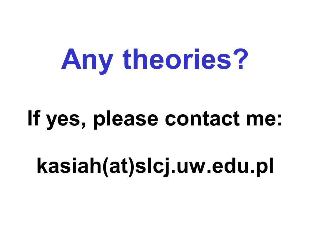 Any theories If yes, please contact me: kasiah(at)slcj.uw.edu.pl