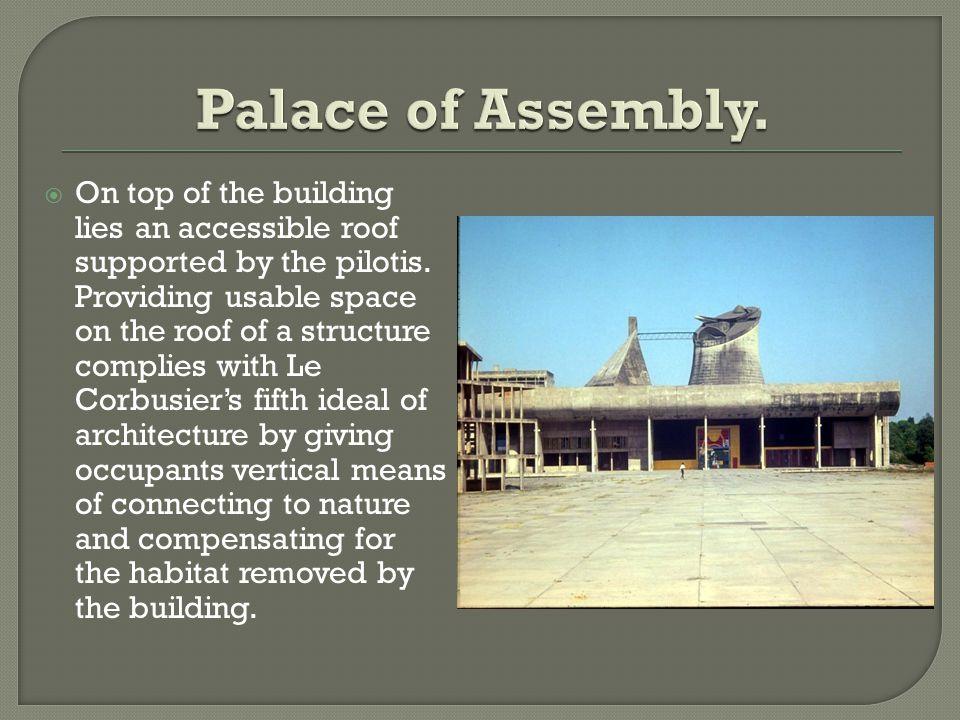 Palace of Assembly.