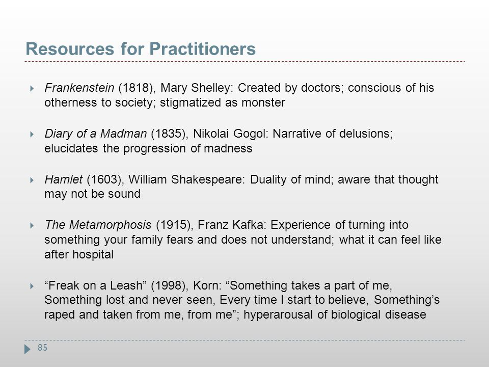 Resources for Practitioners