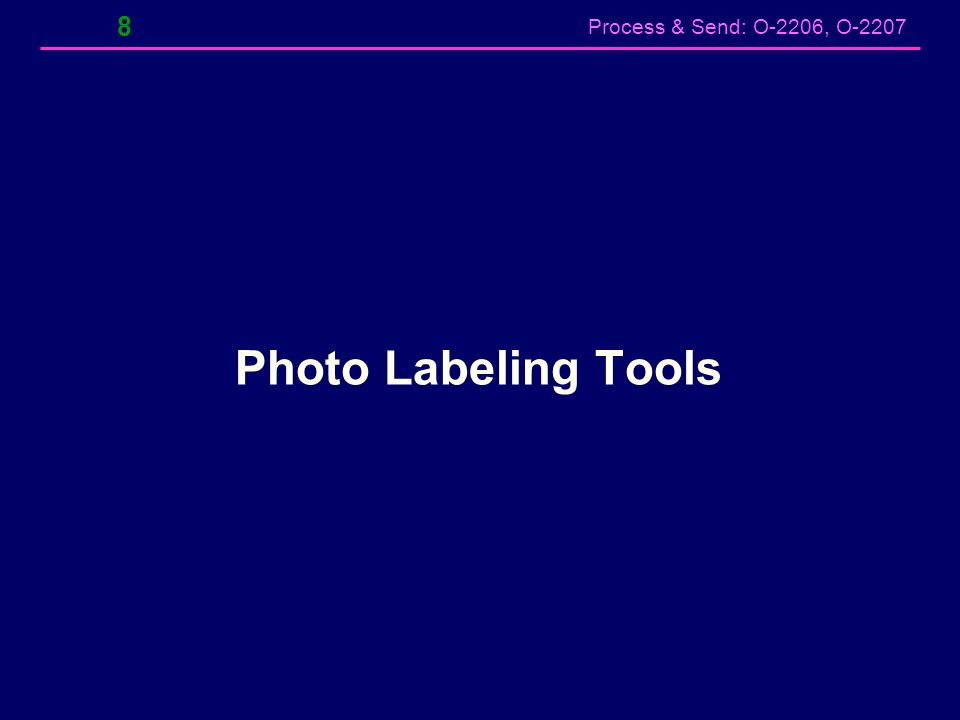 Photo Labeling Tools