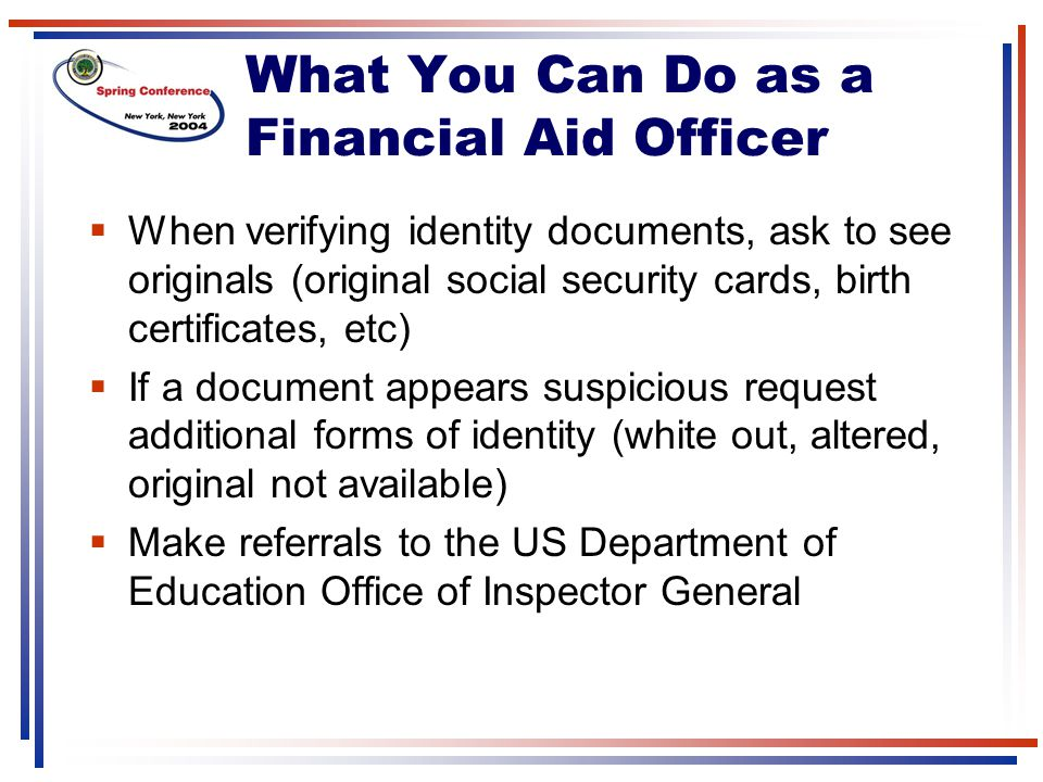 What You Can Do as a Financial Aid Officer