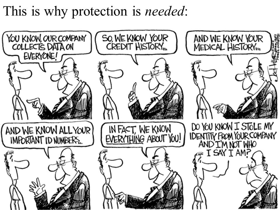 This is why protection is needed: