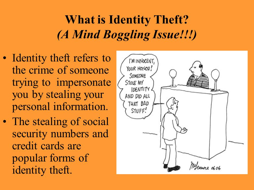 What is Identity Theft (A Mind Boggling Issue!!!)