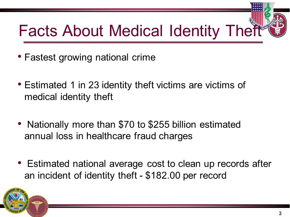 Facts About Medical Identity Theft