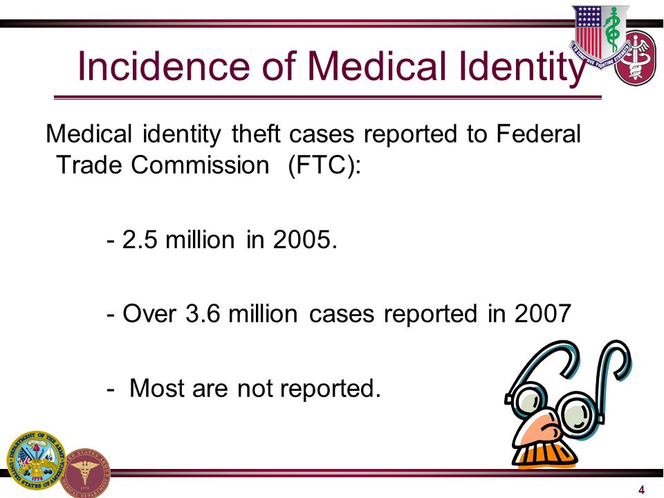 Incidence of Medical Identity
