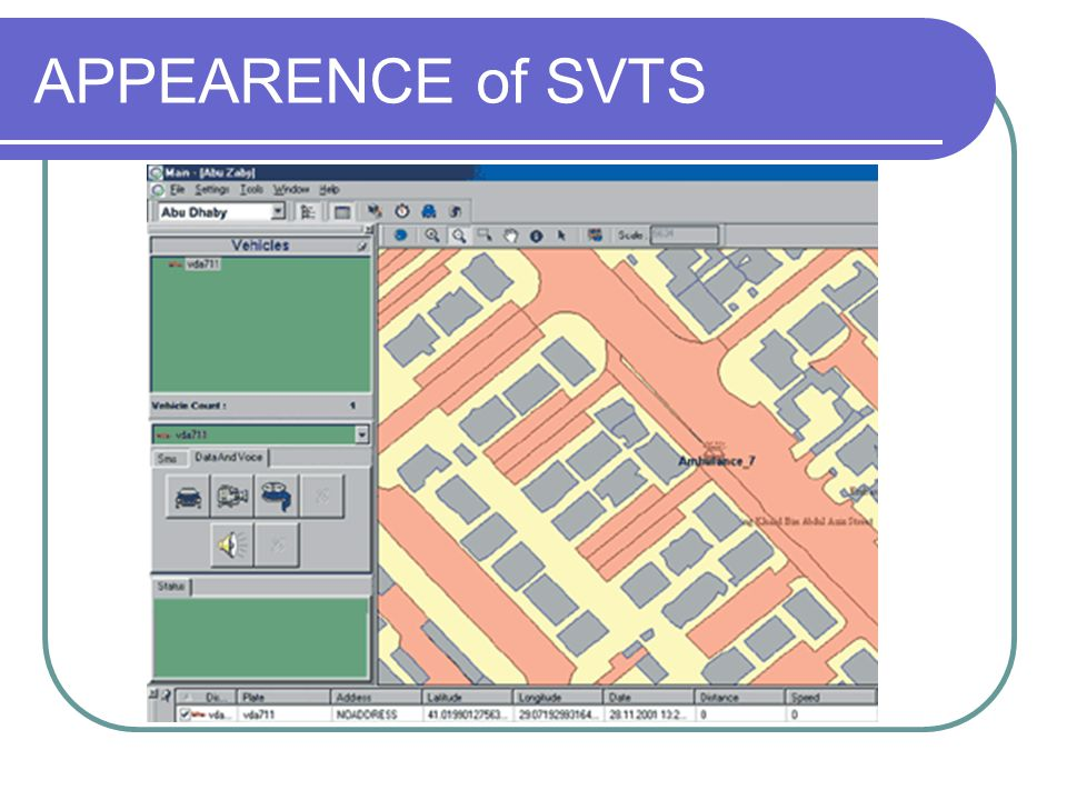 APPEARENCE of SVTS