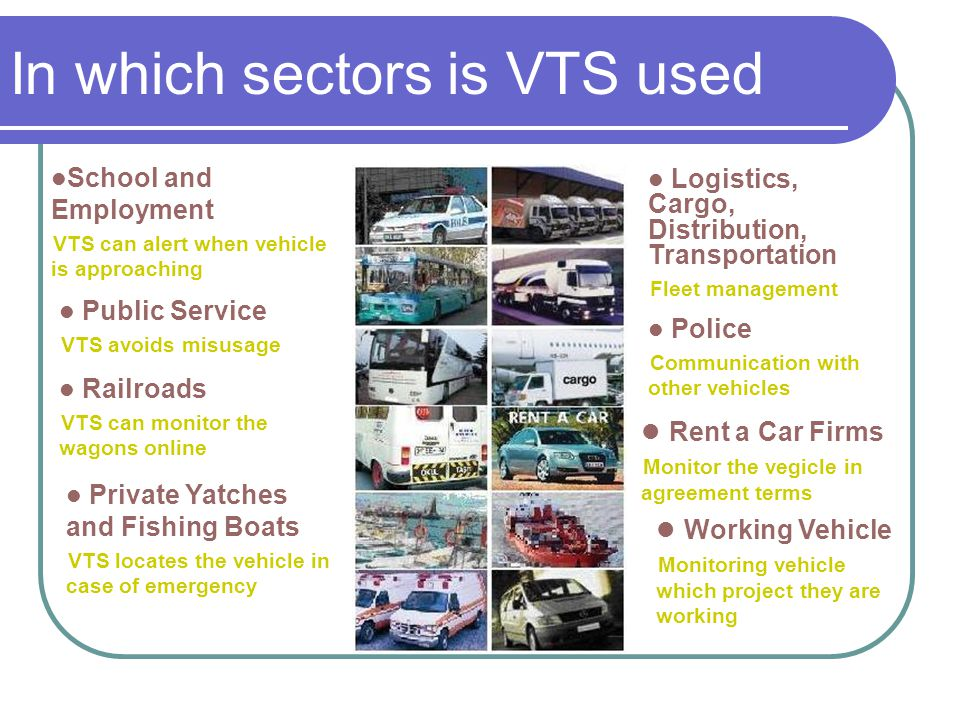 In which sectors is VTS used
