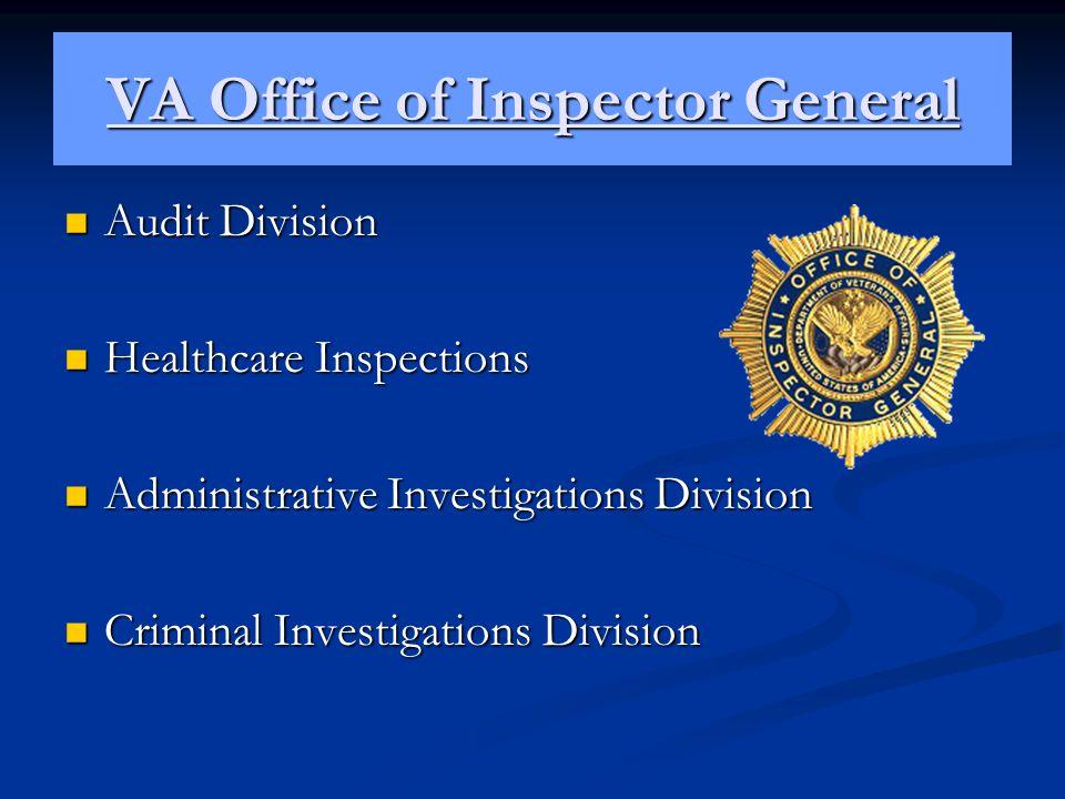 VA Office of Inspector General