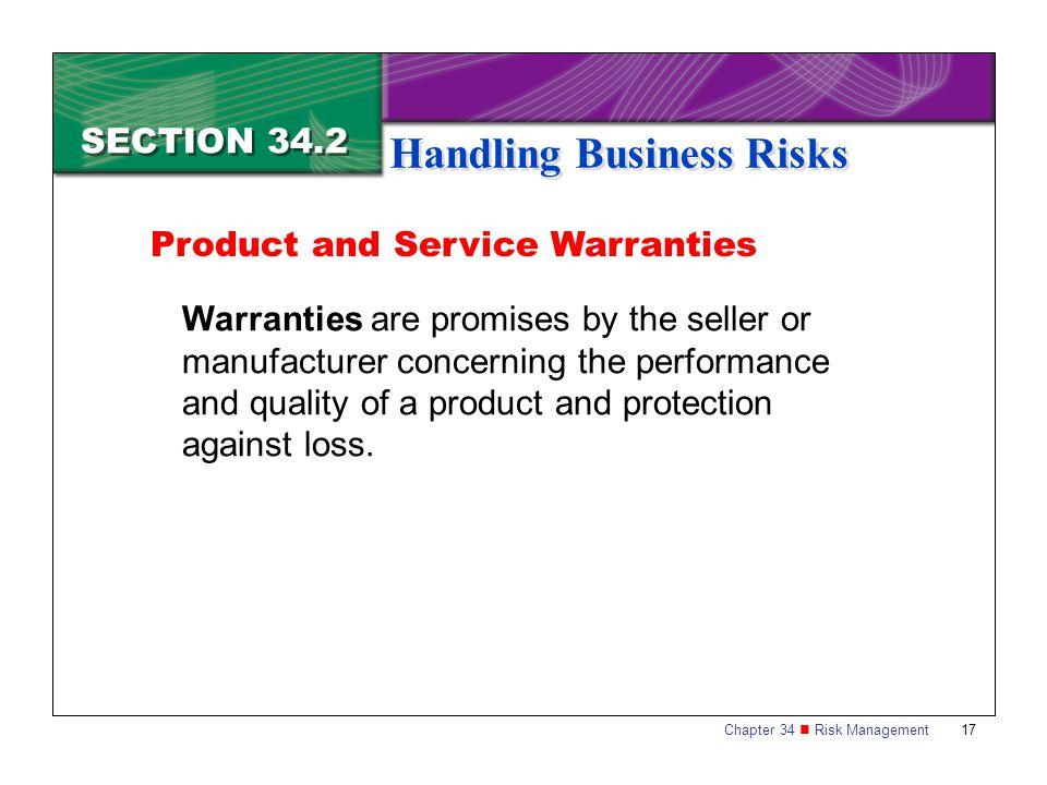 Handling Business Risks