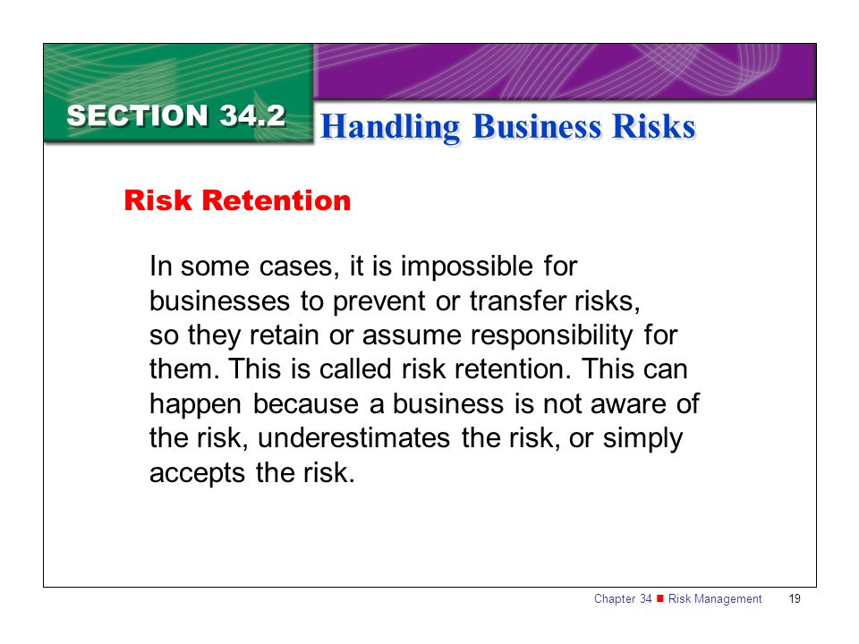 Handling Business Risks