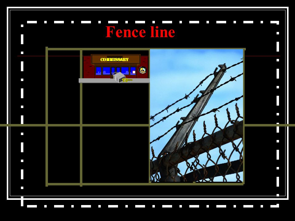 Fence line