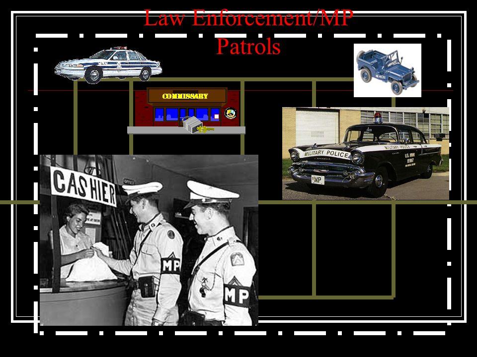 Law Enforcement/MP Patrols