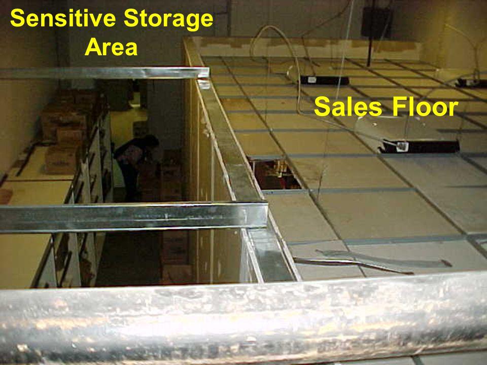 Sensitive Storage Area