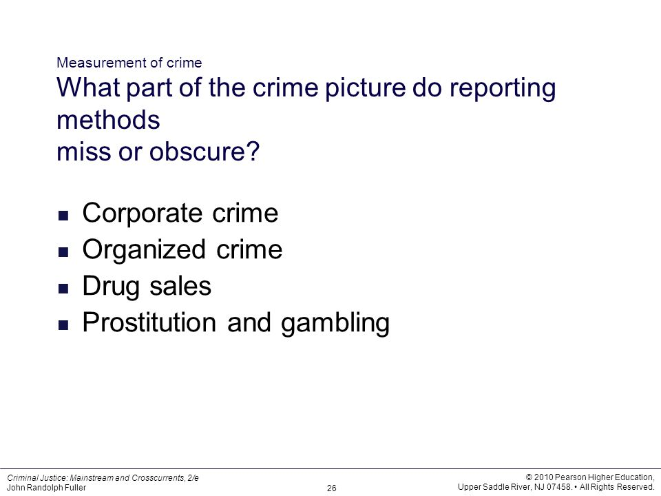 Prostitution and gambling