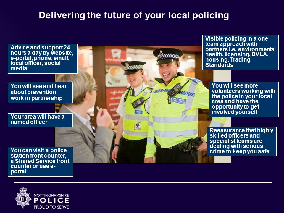 Delivering the future of your local policing