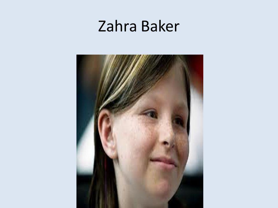 Zahra Baker