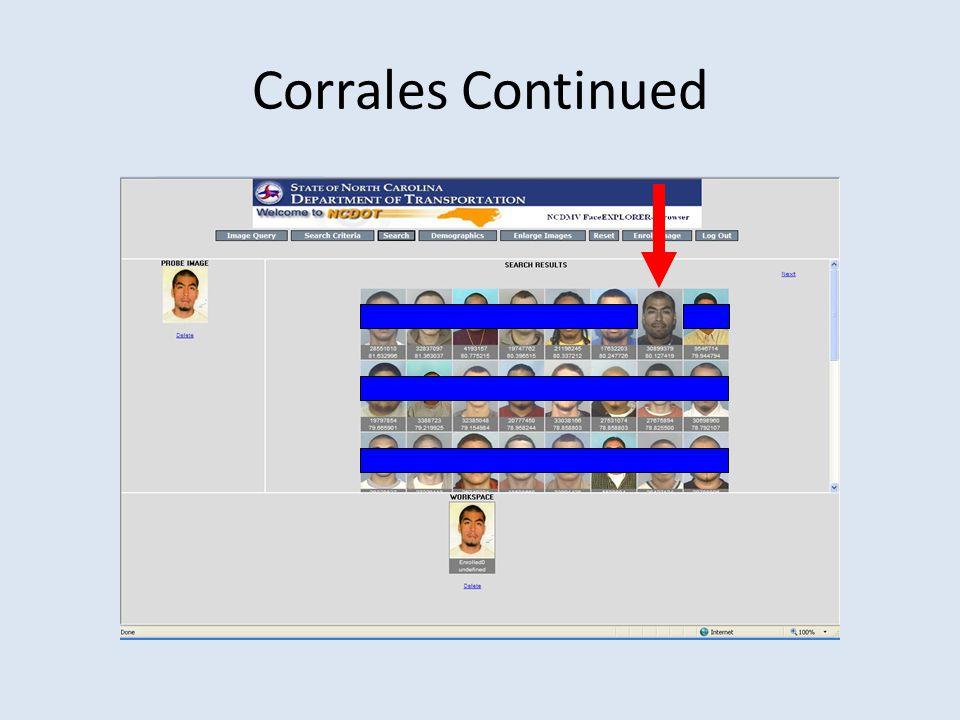Corrales Continued
