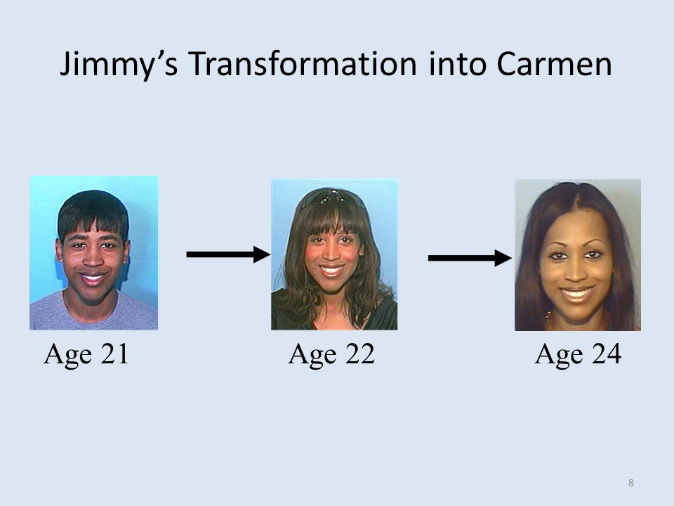 Jimmy's Transformation into Carmen