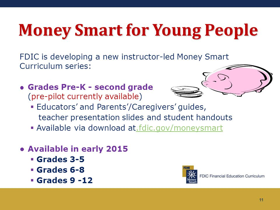 Money Smart for Young People