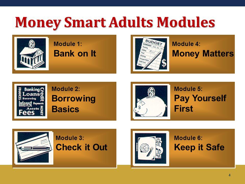 Money Smart Adults Modules