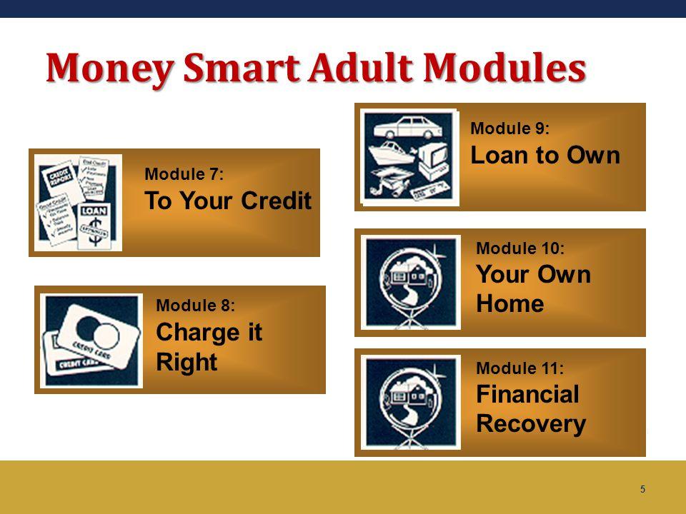 Money Smart Adult Modules