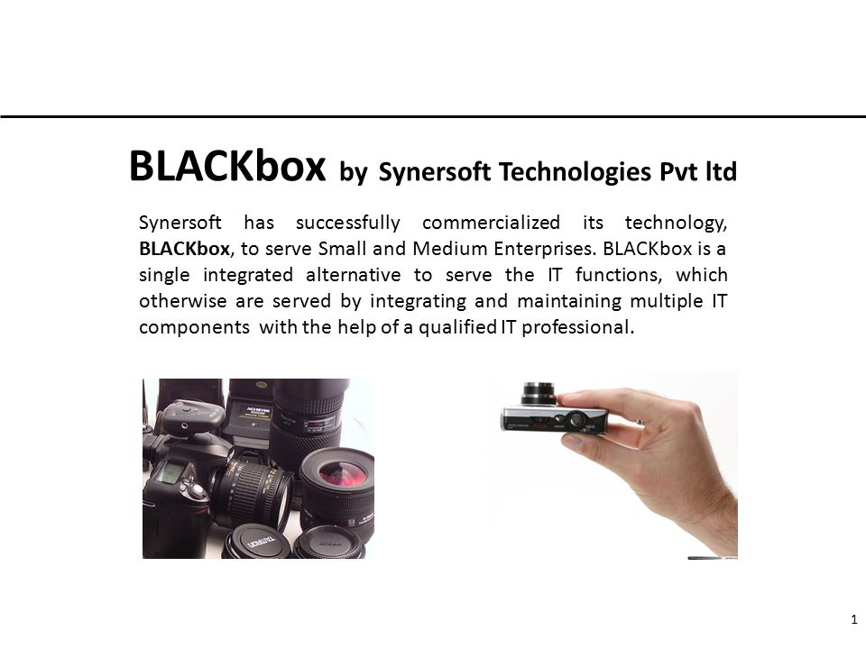 BLACKbox by Synersoft Technologies Pvt ltd