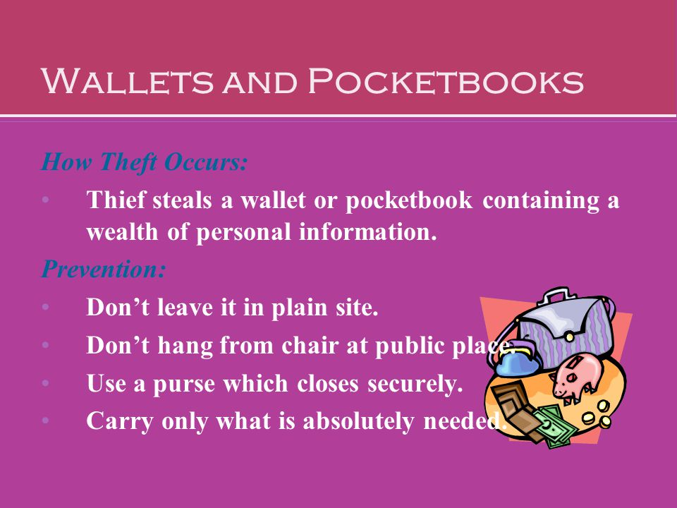 Wallets and Pocketbooks