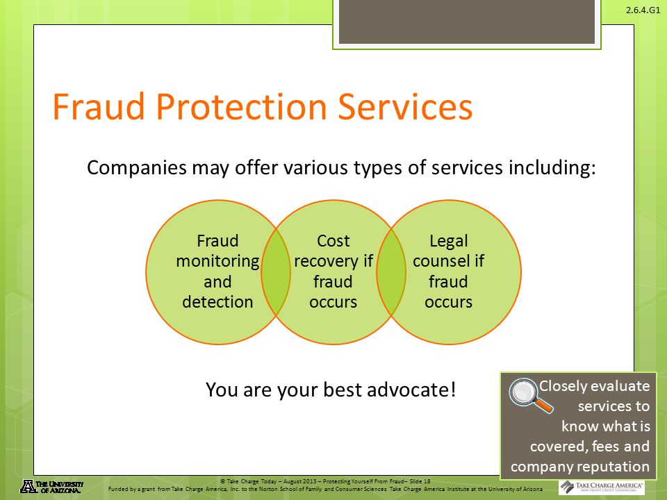 Fraud Protection Services