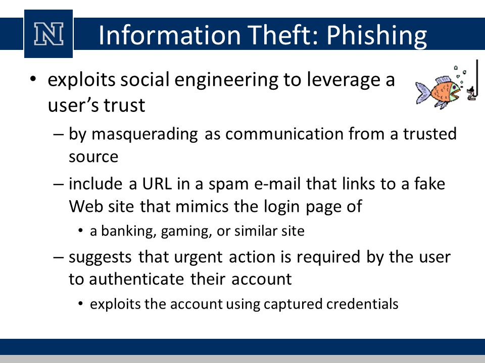 Information Theft: Phishing