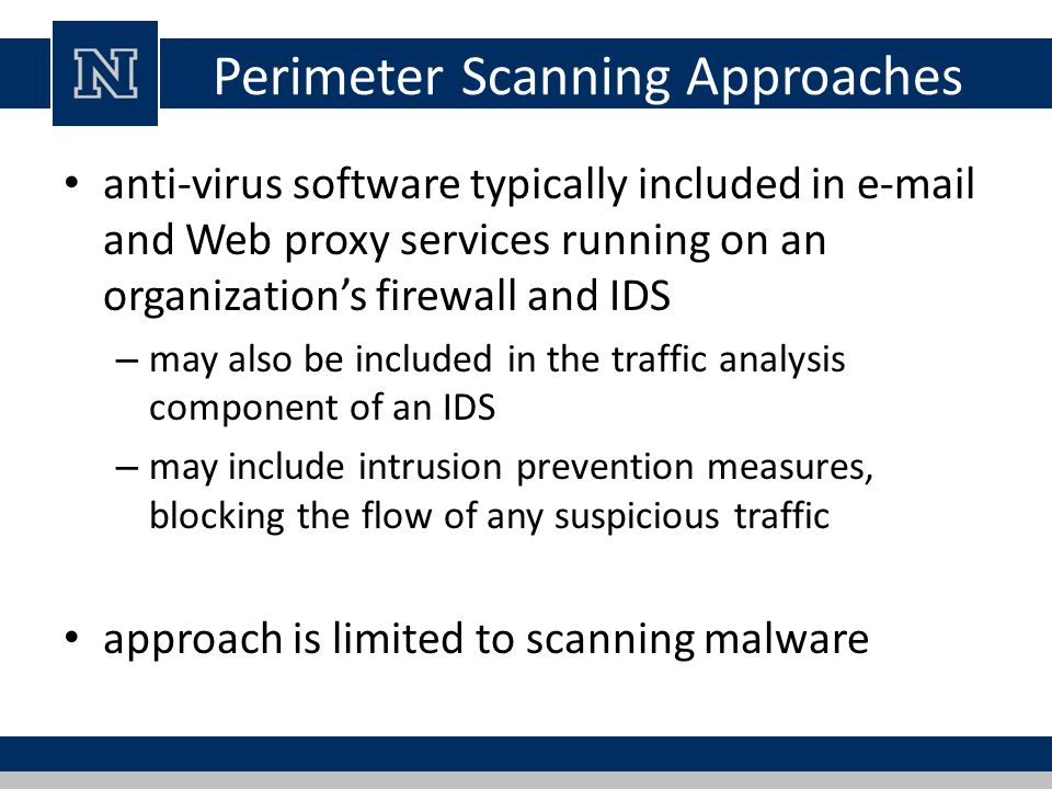 Perimeter Scanning Approaches