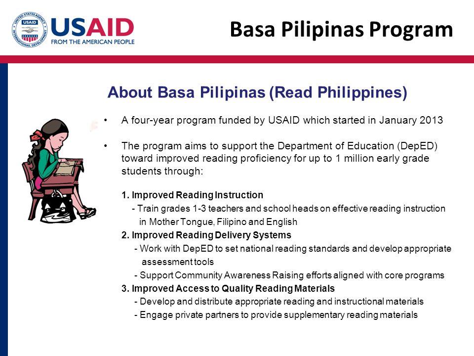 Basa Pilipinas Program