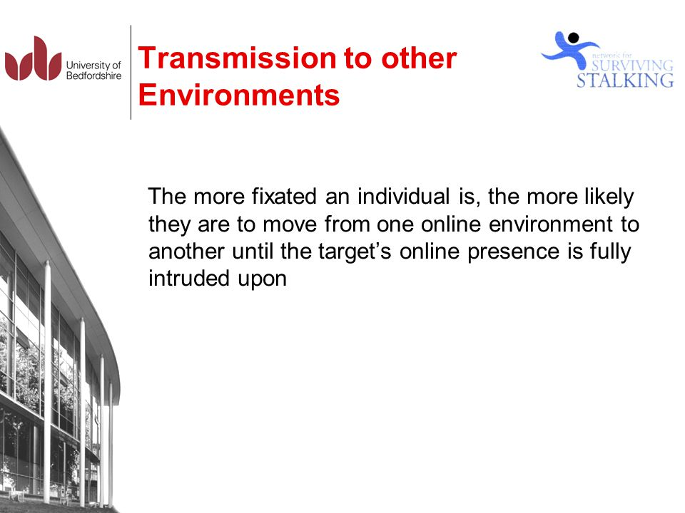 Transmission to other Environments