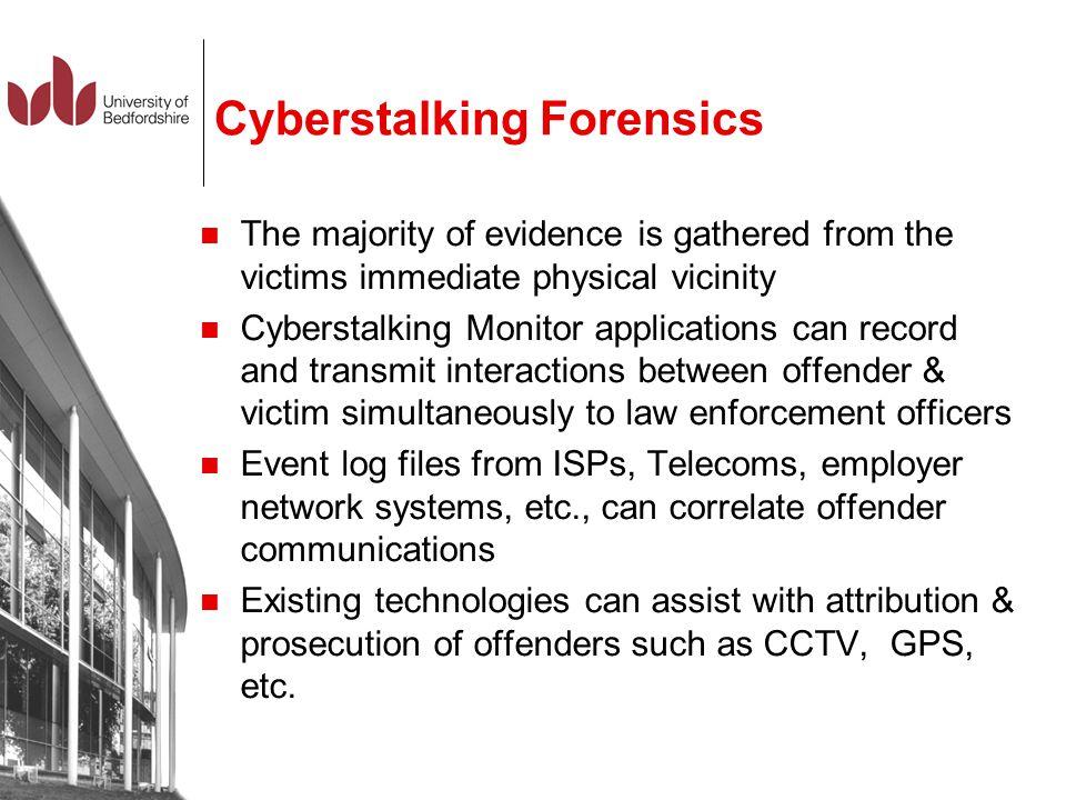 Cyberstalking Forensics