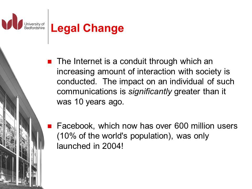 Legal Change