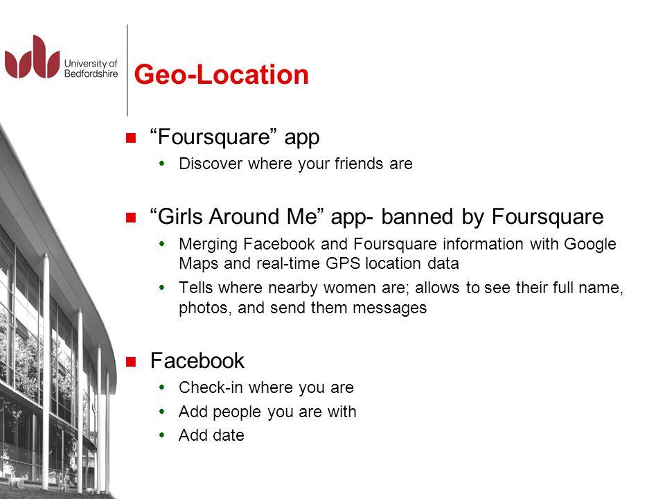 Geo-Location Foursquare app
