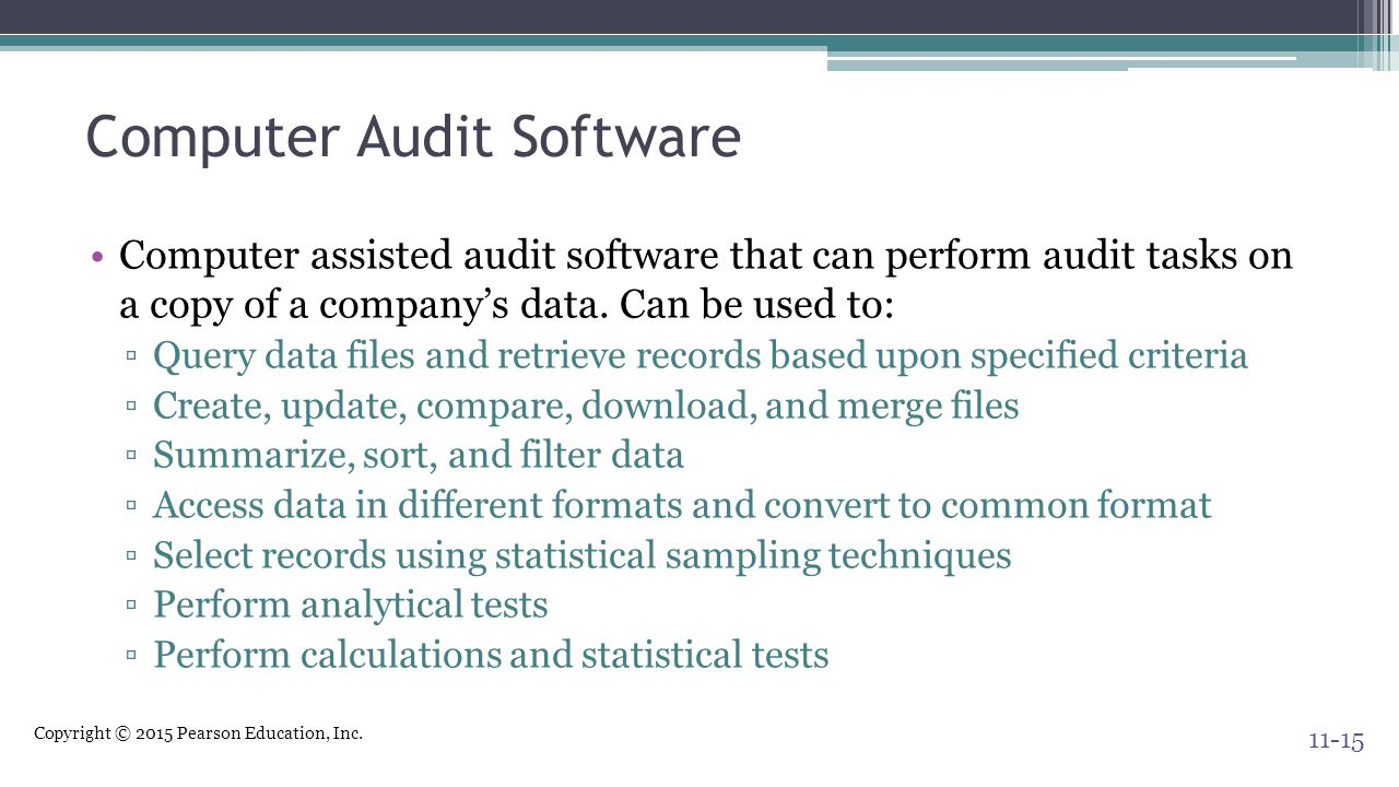 Computer Audit Software