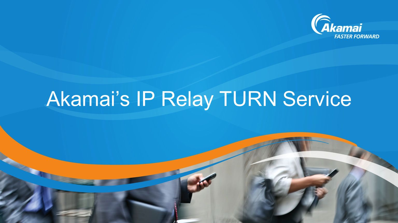 Akamai's IP Relay TURN Service