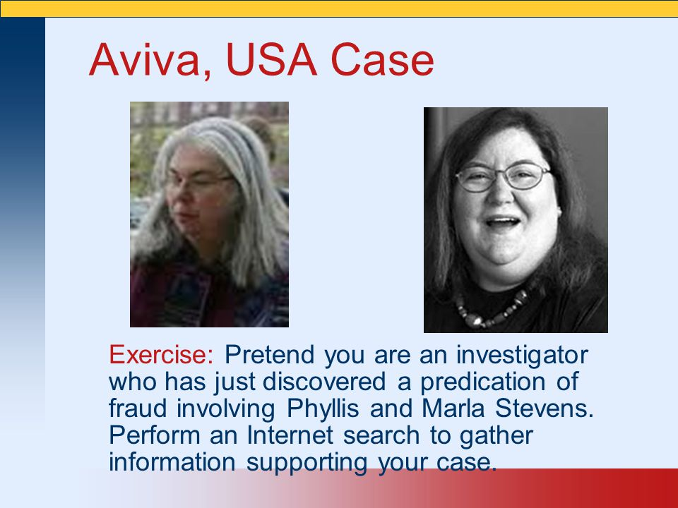 Aviva, USA Case